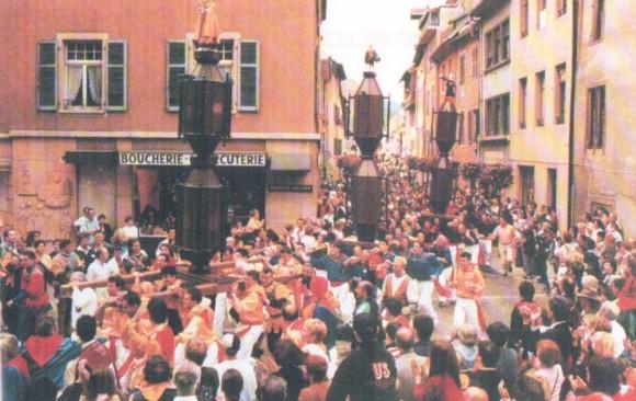 Ceri Mezzani a Thann - luglio 1998